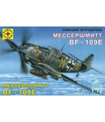 Истребитель Мессершмитт Bf-109E МОДЕЛИСТ 207209