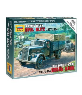 """Немецкий грузовик """"Опель Блиц"""" 1937-1944 ЗВЕЗДА 6126"""