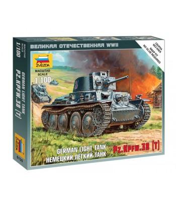 Немецкий легкий танк PZ.KPFW.38 (T) ЗВЕЗДА 6130