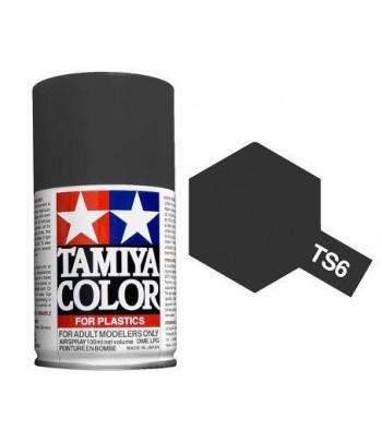 TS-6 Matt Black (спрей) TAMIYA 85006
