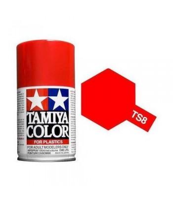 TS-8 Italian Red (спрей) TAMIYA 85008