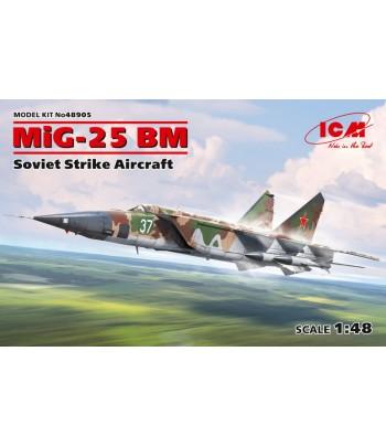 МиГ-25 БМ, Советский противорадарный самолет ICM 48905