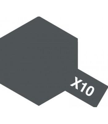 X-10 Gun Metal (эмаль) TAMIYA 80010