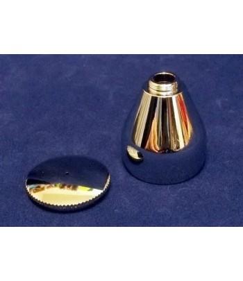 Емкость с крышкой, 7 мл, резьба, металл JAS 1526