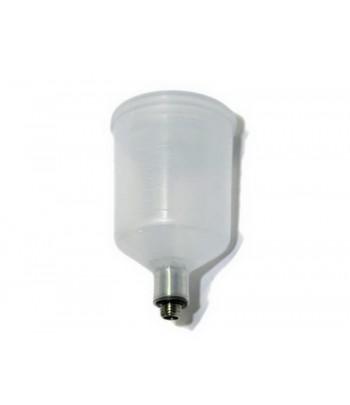 Емкость с крышкой, 20 мл, резьба, пластик JAS 1581