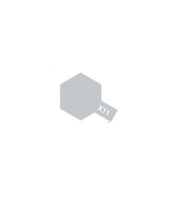 X-11 Ghrome Silver (эмаль) TAMIYA 80011
