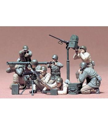 Американские пулеметчики и гранатометчики в бою 8 фигур TAMIYA 35086