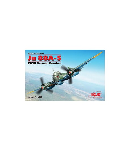 Ju 88A-5 Германский бомбардировщик ii MB ICM 48232