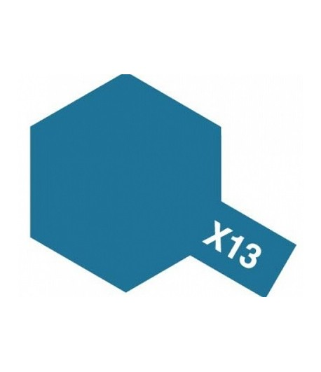 X-13 Metallic Blue (эмаль) TAMIYA 80013
