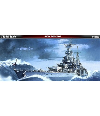 Американский тяжелый крейсер USS Indianapolis (CA-35)ACADEMY 14107