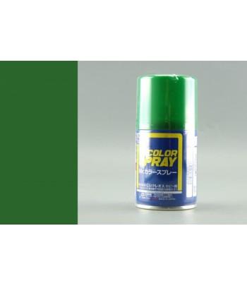 S6 Краска-спрей MR.HOBBY 100мл Green Gloss GUNZE SANGYO