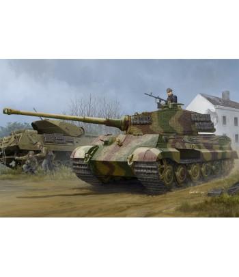 Немецкий танк Pz.Kpfw. VI Sd.Kfz. 181 Tiger II (Henschel 1944 Production) w/Zimmer HOBBY BOSS 84531