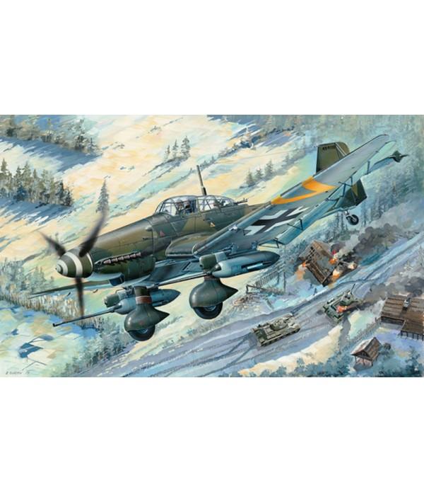 Самолёт Junkers Ju-87G-2 Stuka (1:32) TRUMPETER 03218