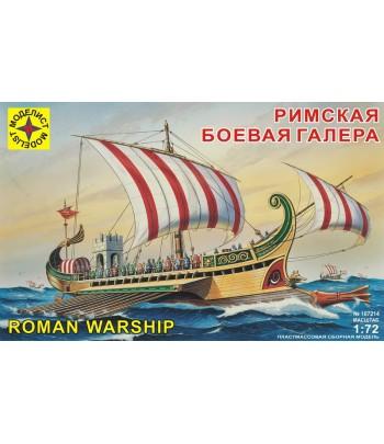 Римская боевая галера МОДЕЛИСТ 107214