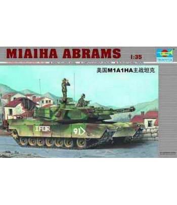 Американский танк M1A1HA Abrams TRUMPETER 00334