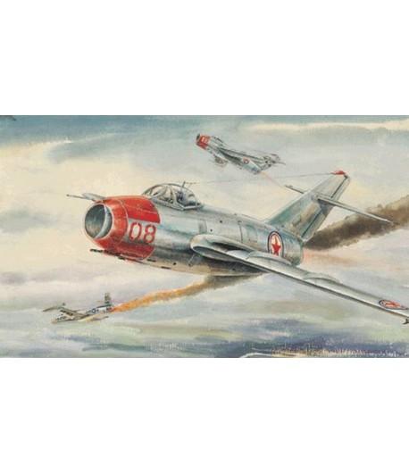 Самолет MiG-15 bis Fagot-B TRUMPETER 02806
