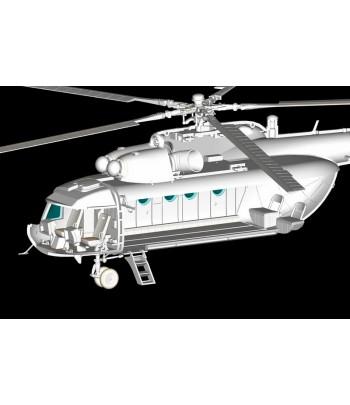 Вертолет Mi-8T Hip-C HOBBY BOSS 87221
