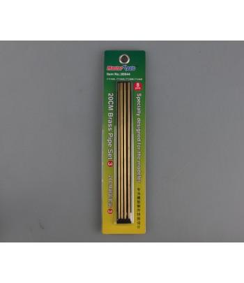 Латунные трубки Set 3 длинна 20 см (2 шт Ф 1,1х200 мм; 2 шт Ф 1,2х200 мм) MasterTools 09944