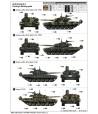 Российский танк T-72B1 MBT (w/kontakt-1 reactive armor) TRUMPETER 00925
