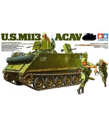 Американский бронетранспортер M113 ACAV с 3 фигурами TAMIYA 35135