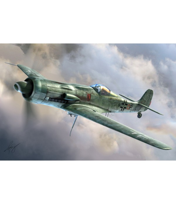 Самолет Focke-Wulf Ta 152C-1/R-14 HOBBY BOSS 81703