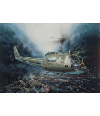 Вертолет Bell UH-1D Iroquois (Ирокез) ITALERI 0849