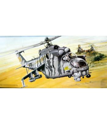 Вертолет Ми-24В (Hind-E) 1/35 TRUMPETER 05103
