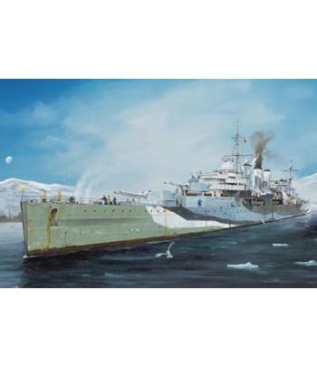Royal Navy HMS Kent (Heavy Cruiser) (1:350) TRUMPETER 05352