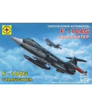 """Сверхзвуковой истребитель F-104G """"Старфайтер"""" (1:72) МОДЕЛИСТ 207201"""