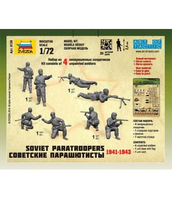 Советские парашютисты 1941-1943 ЗВЕЗДА 6138