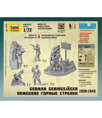 Немецкие горные стрелки 1939-1943 ЗВЕЗДА 6154