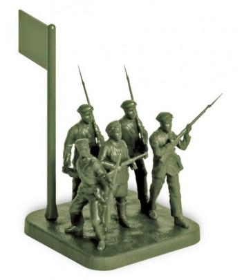 Советское ополчение 1941 ЗВЕЗДА 6181