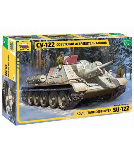 Советский истребитель танков СУ-122 ЗВЕЗДА 3691