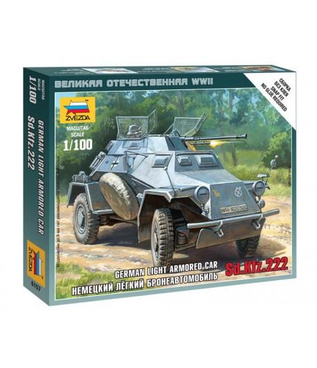 Немецкий легкий бронеавтомобиль Sd.Kfz 222 ЗВЕЗДА 6157