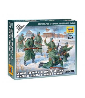 Немецкая пехота в зимней форме 1941-1945 ЗВЕЗДА 6198
