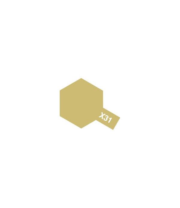 X-31 Titanium Gold (акрил) TAMIYA 81531