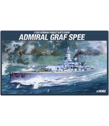 Немецкий тяжелый крейсер Admiral Graf Spee ACADEMY14103