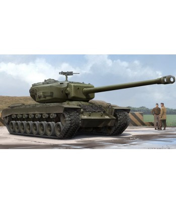 Американский экспрементальный тяжелый танк T29E1 HOBBY BOSS 84510