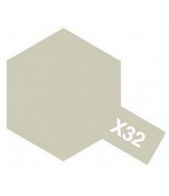X-32 Titanium Silver (эмаль) TAMIYA 80032