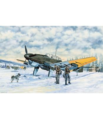 Самолёт Junkers Ju-87B-2/U4 STUKA (1:32) TRUMPETER 03215