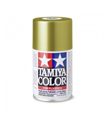 TS-21 Gold (Золотистая) краска-спрей в баллоне 100 мл TAMIYA 85021