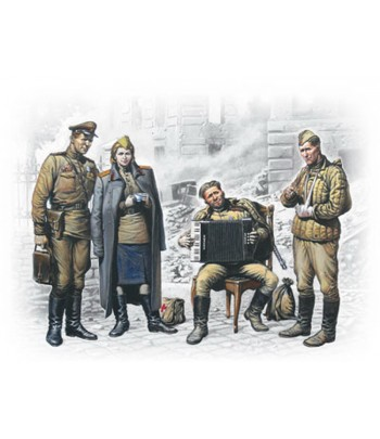 "Фигуры ""Май 1945 г."" ICM 35541"