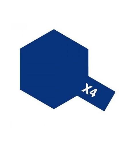 X-4 Blue (эмаль) TAMIYA 80004