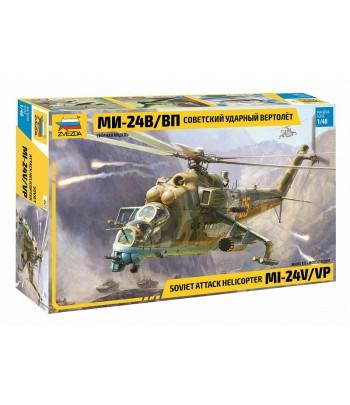 Советский ударный вертолет Ми-24В/ВП ЗВЕЗДА 4823