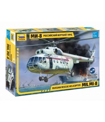 Российский вертолёт МЧС МИ-8 ЗВЕЗДА 7254