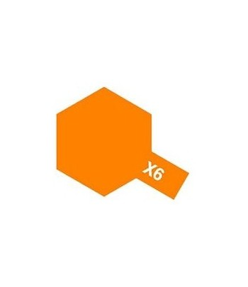 X-6 Orange (эмаль) TAMIYA 80006