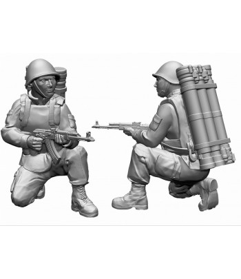 """Советский противотанковый ракетный комплекс 9К115 """"Метис"""" ЗВЕЗДА 7413"""