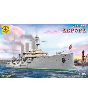 """Крейсер """"Аврора"""" (1:400) МОДЕЛИСТ 140002"""