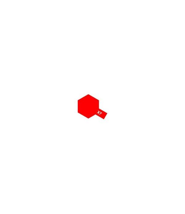 X-7 Red (эмаль) TAMIYA 80007