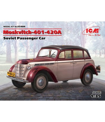 Москвич-401-420А седан, советский легковой автомобиль ICM 35484